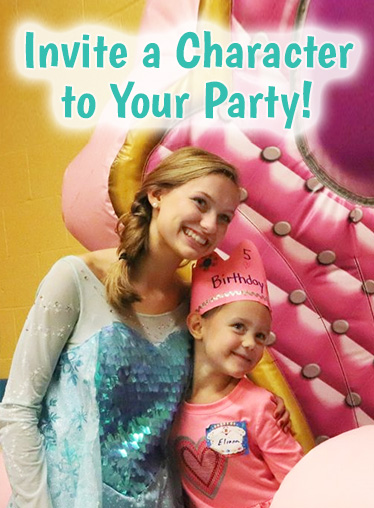 Invite a Character to Your Child's Birthday Party