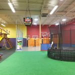 Begin in Our Massive Indoor Playground with Play Sets, Trampolines, and Basketball Hoops!