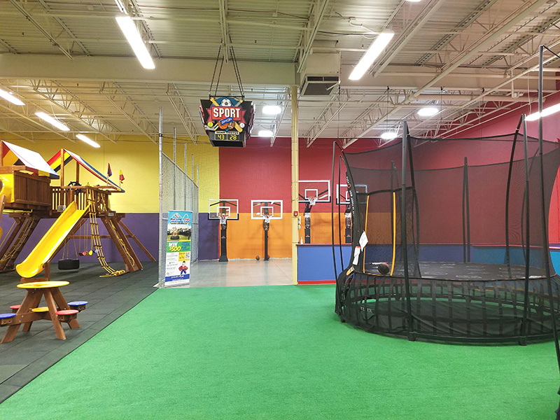 Indoor Playground is included for a Best Children's Birthday Party.