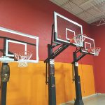 Goalrilla Basketball hoops at our Indoor Playground.
