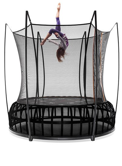 We have multiple models of Vuly Trampolines in our Indoor Amusement Center. Best Brand for Backyard Fun.