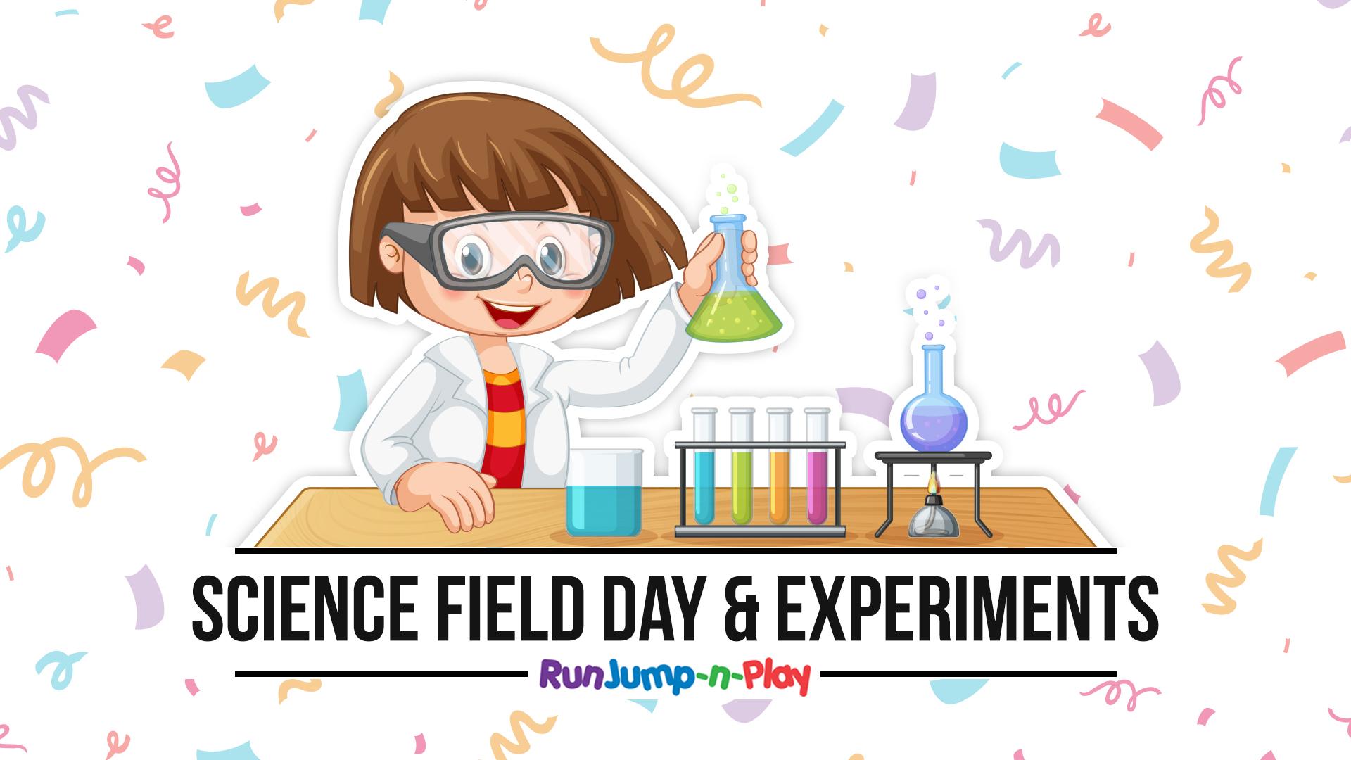Science day at Run Jump-n-Play - 2019