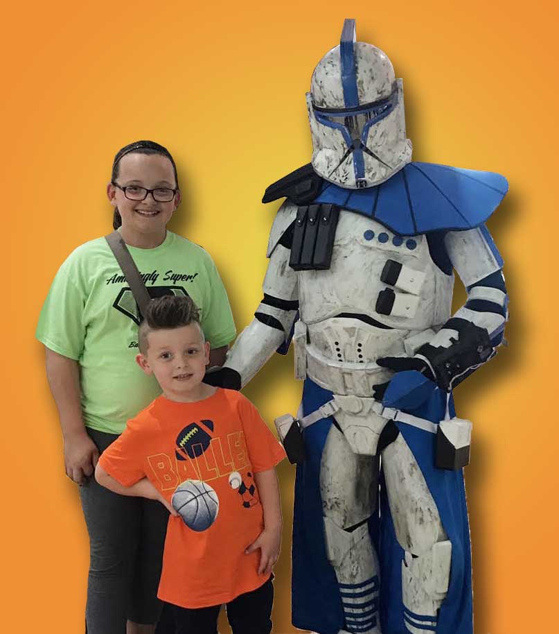 Star Wars Charecter for Childrens birthday party - Cincinnati