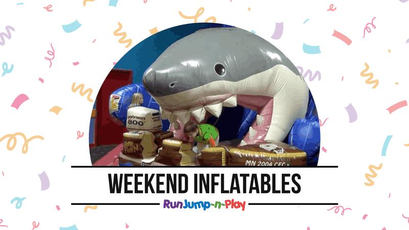 Weekend Inflatables at Run Jump-n-Play Cincinnati