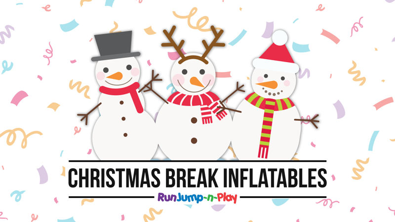 Christmas Break Inflatables - Things to with kids on Christmas Break Cincinnati