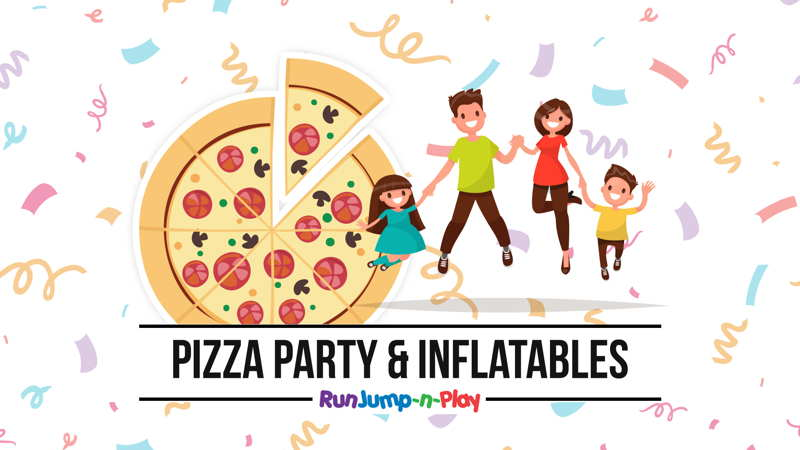 Pizza Party & Inflatables