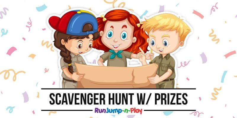 Scavenger Hunt at Run Jump-N-Play 2019